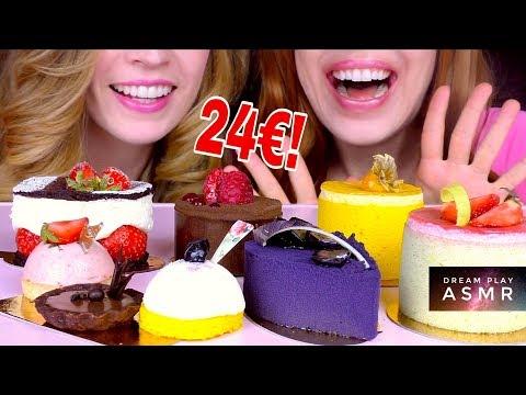 ★ASMR★ Wir essen 24€ Luxustörtchen + Bloopers & Gewinner Verlosung   Dream Play ASMR