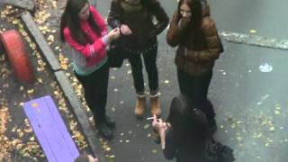 Сумские школьницы. Будущее Украины.