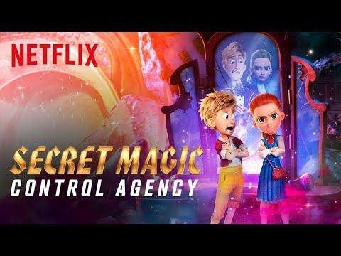 Secret Magic Control Agency Trailer | Netflix Futures