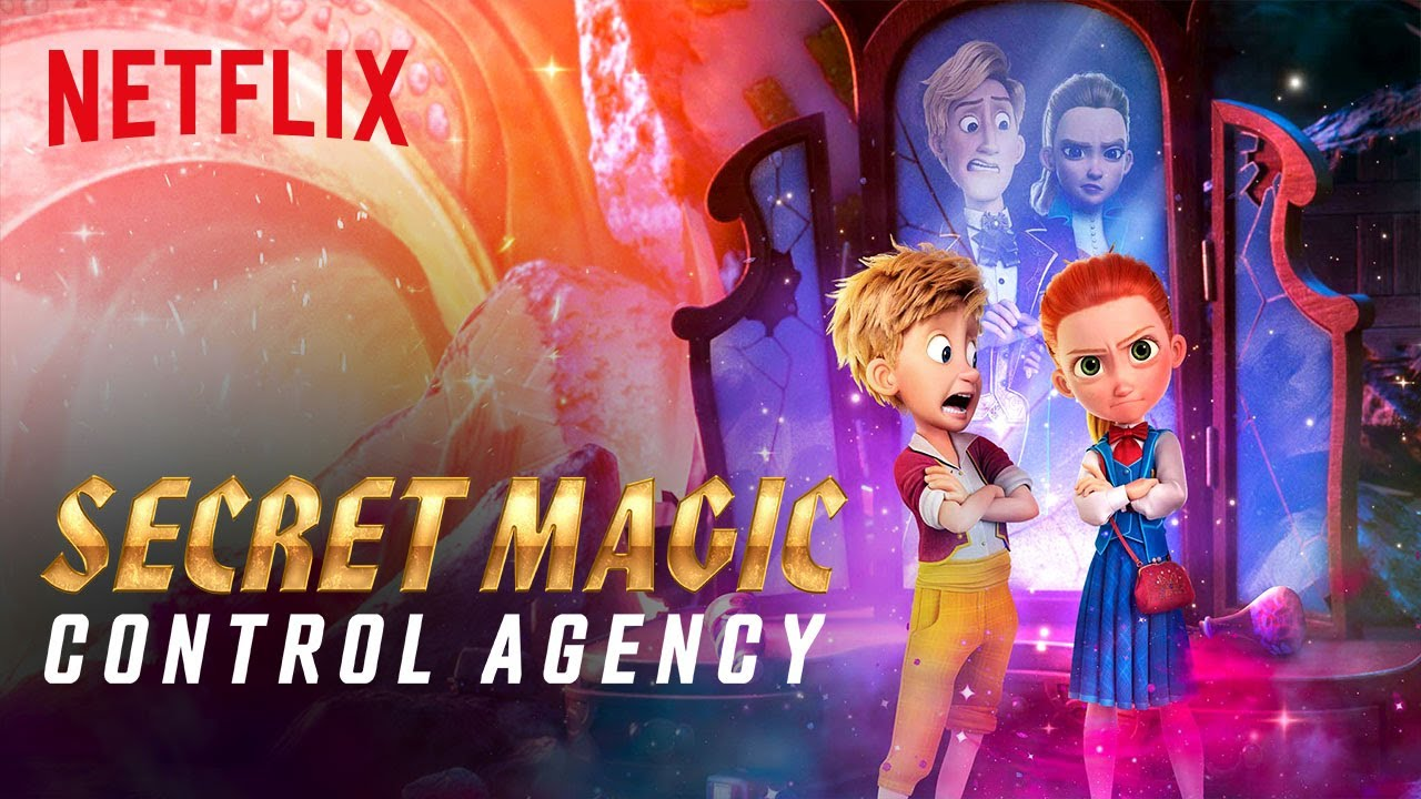 Secret Magic Control Agency Trailer | Netflix Futures - YouTube