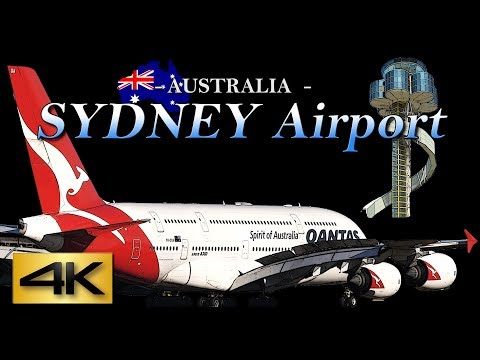 【4K/60P】1Hour  Special Spotting at SYDNEY Airport  2017 Digest