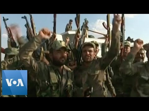 Syrian Troops Deploy