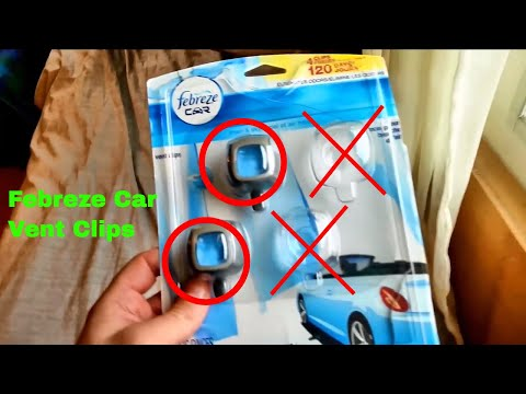 ✅  How To Use Febreze Car Vent Clips Review