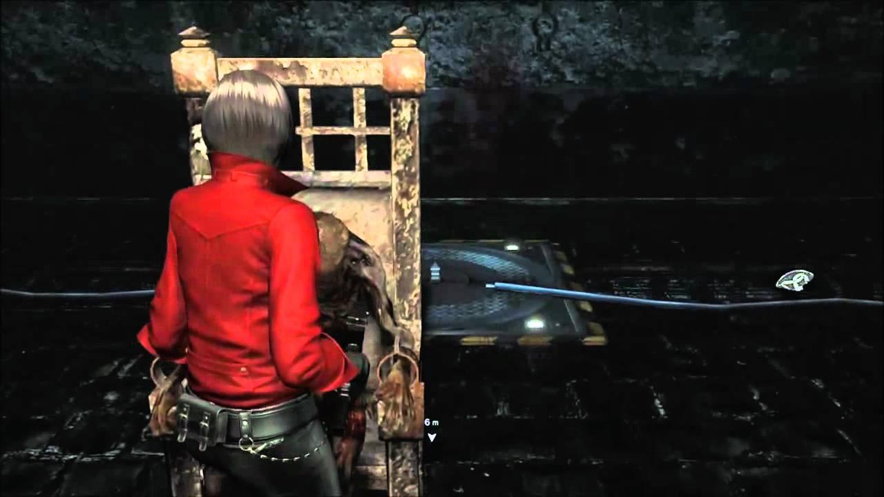 Resident Evil 6 Ada Wong Catacomb Puzzle Youtube