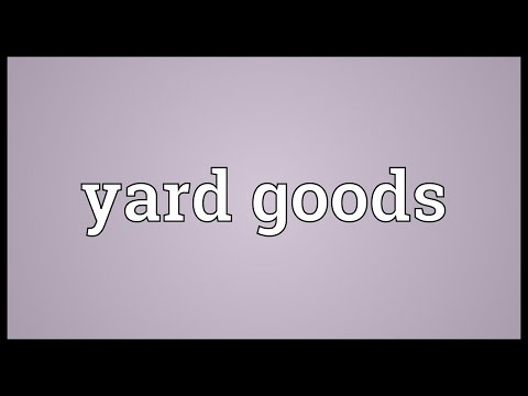 Header of yard goods