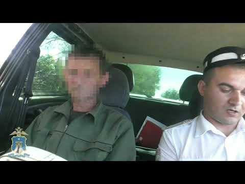 Пьяный водитель в Туркменском районе