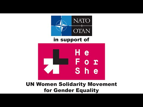 NATO Military Leadership sign up to support the UN HeForShe campaign