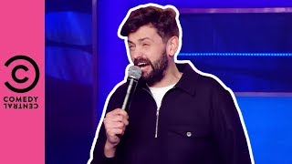 Tinder's New Leave Or Remain Filter | Comedy Central At The Comedy Store