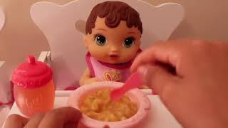 Baby Alive Morning Routine and Training Compilation