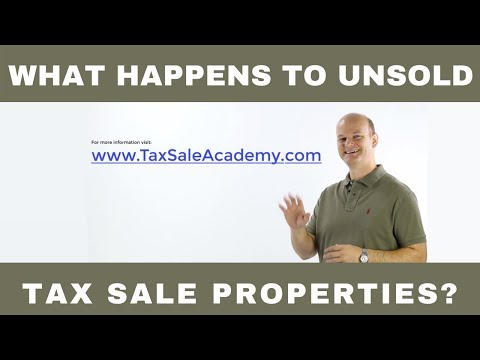 Unsold Tax Sale Properties