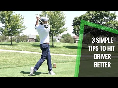 How To Hit Longer Drives and Be Consistent: 3 Simple Golf Tips