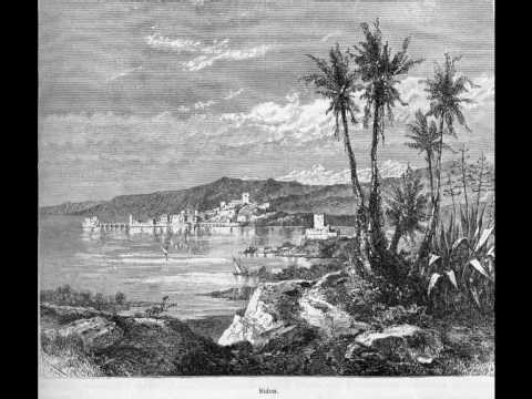 Old Beirut, Lebanon in engravings of 1878 بيروت لبنان