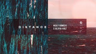 Gambar cover Nicky Romero X Olivia Holt - Distance (Official Lyric Video)