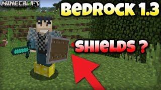 Minecraft Bedrock 1.3 -  SHIELDS are coming?  - Xbox / MCPE / Windows 10 / Switch