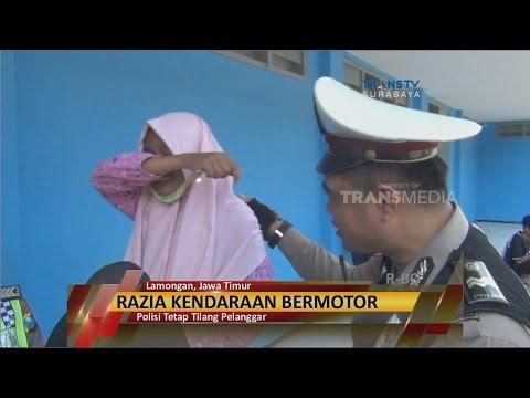 Kena Tilang Polisi, Siswi SMP Menangis Histeris