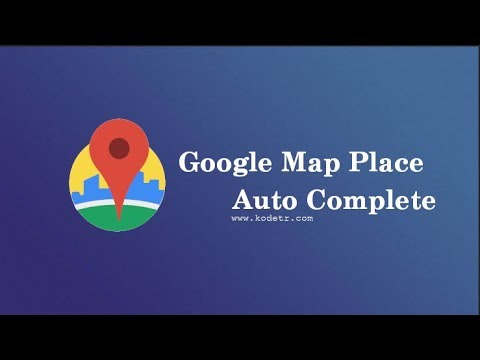 How Make Map Place AutoComplete Android by KODETR