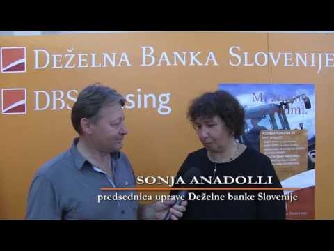 DBS na sejmu AGRA 2014 Pogovor s predsednico uprave, Sonjo Anadolli (S-TV Skledar)