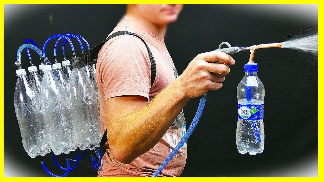 How to Make Spray Paint - Diy Paint Gun - YouTube