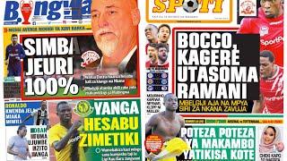 MICHEZO Magazetini Jumanne 18/12/2018:SIMBA  Jeuri 100% CAF.