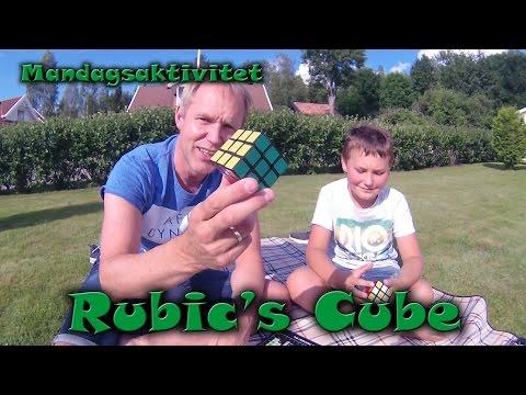 Rubik's cube i MandagsAktivitet