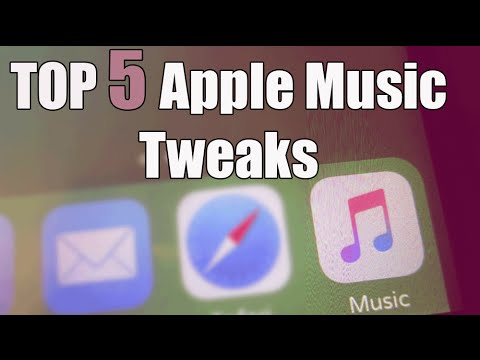 Top 5 Cydia Tweaks to use with Apple Music app!