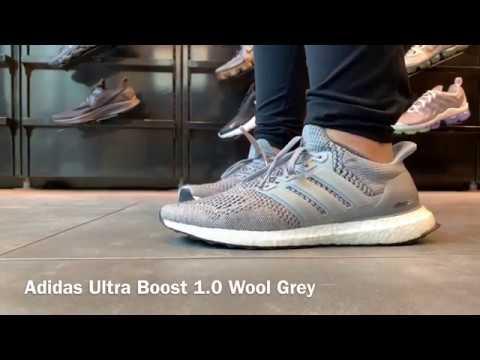 How to wear Adidas Ultra Boost 1.0 Wool Grey