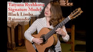 Guitar presentation - Tatyana Ryzhkova Black Limba signature model