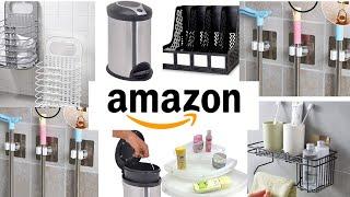 AMAZON BATHROOM ORGANISERS 2020|| NO DRILL ||