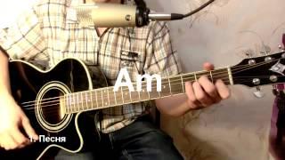 Как играть на гитаре Ты неси меня река - Любэ: бой, аккорды, табы, урок