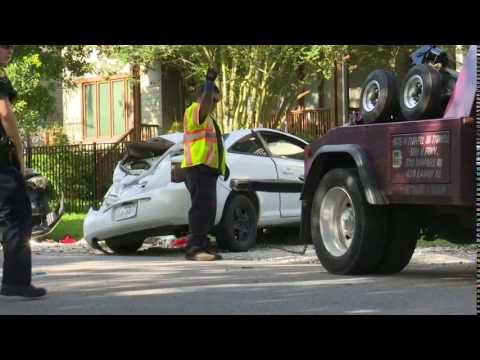 Police: Teen joyride leads to chase, major crash