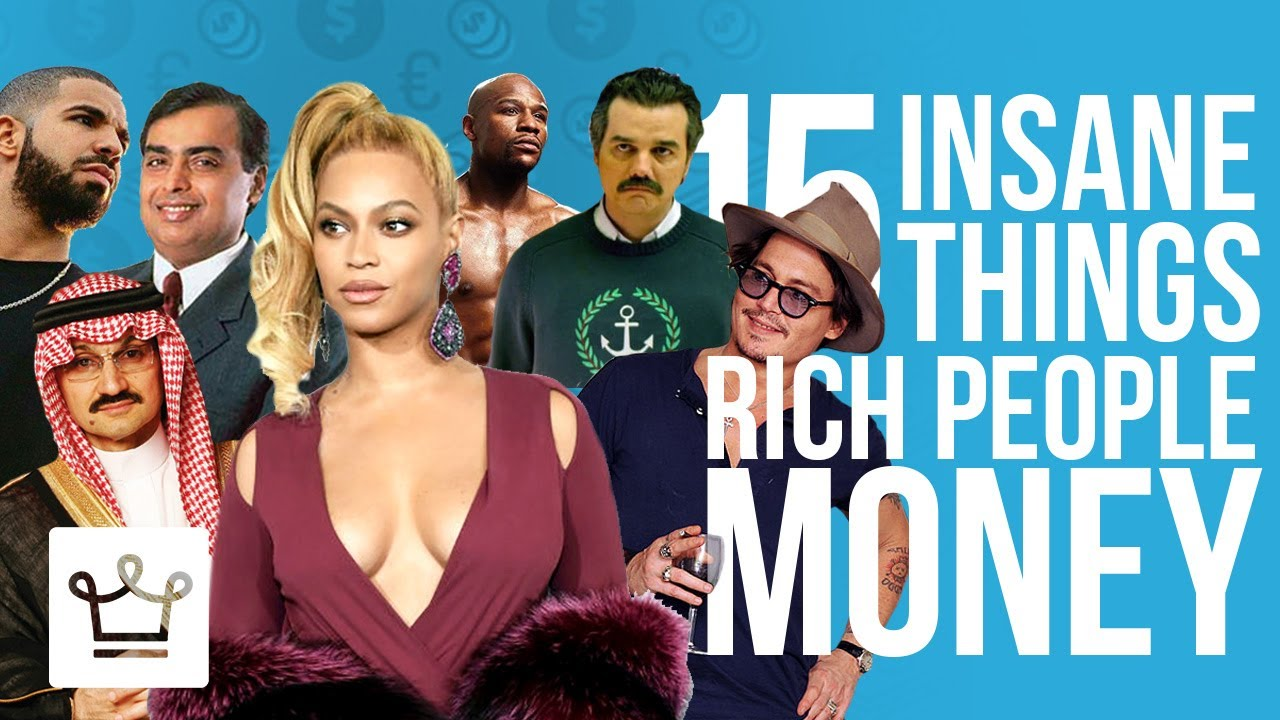 15 of the most insane spending celebrities