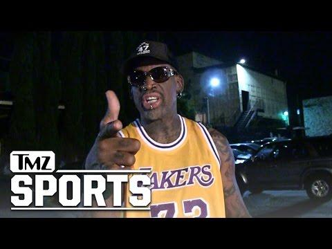 Dennis Rodman Blasts Derek Fisher Comeback...'Just Give It Up' | TMZ Sports