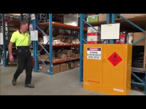 Flammable Liquid Cabinets, Pallet Racking Mesh Panels, Magnetic Labels