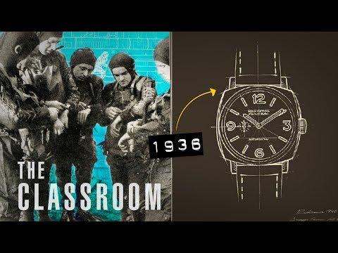 The History Of Panerai   The Classroom
