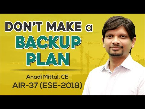 ESE/IES 2018 | Anadi Mittal (CE, AIR 37) - MADE EASY Student | Toppers Talk with Mr. B. Singh