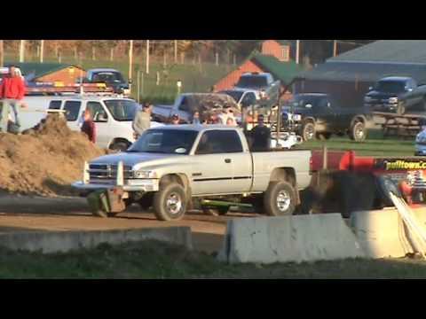 Burton, Ohio, Tim Haas Charity pull, 2.6 Diesel