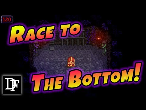 Race To The Bottom! Bottom Of The Mine Challenge! - Stardew Valley