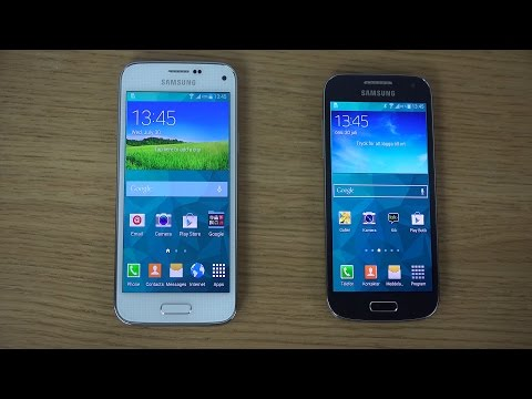 Samsung Galaxy S5 Mini vs. Samsung Galaxy S4 Mini - Review (4K)