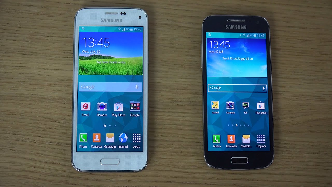 samsung galaxy s5 mini vs samsung galaxy s4 mini review. Black Bedroom Furniture Sets. Home Design Ideas