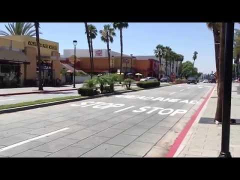 Downtown Burbank,California