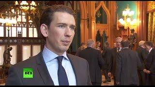 Глава мид австрии: ес нужна сильная самостоятельная политика