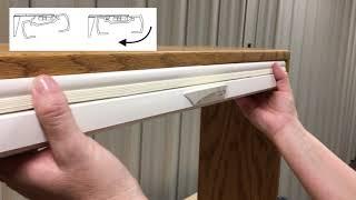 Honeycomb Shades - Cordless Lift & Lock Installation
