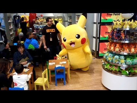 Pokémon Art Academy Launch Event at Nintendo World