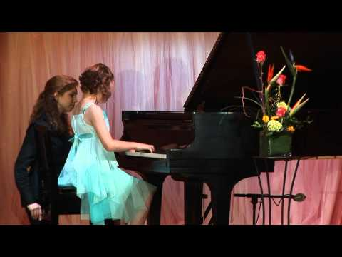 Bethany Rosema performs Long, Long Ago and Clair de la Lune