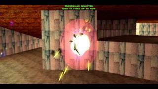 Descent 3 FiringRange Gameplay PC