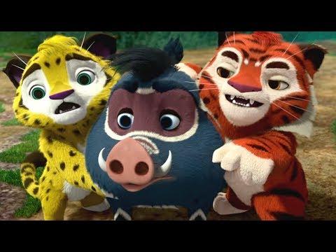 Лео и Тиг - Плохая примета - серия 21 - мультфильм о приключениях друзей в тайге