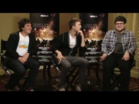 'Project X' Interview with Thomas Mann, Oliver Cooper & JD Brown