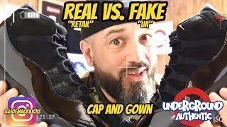 Jordan XI Cap and Gown - WATCH THIS BEFORE BUYING!  (Retail/