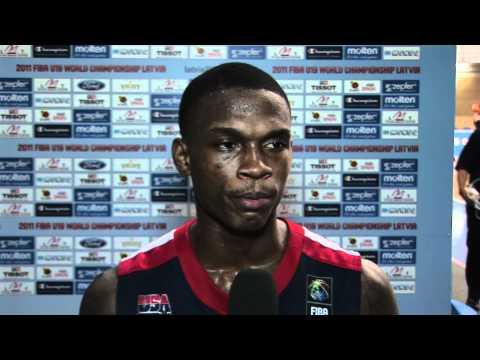 FIBAU19 - USA v Serbia post game interviews