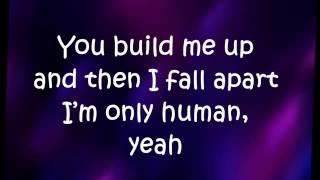 Repeat youtube video Christina Perri -Human Lyrics